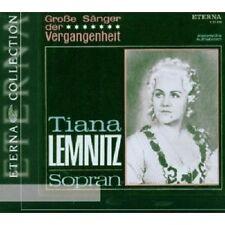 T./MASUR,K./ROTHER,A./RSOL/+ LEMNITZ - TIANA LEMNITZ-GROSSE SÄNGER...CD NEU
