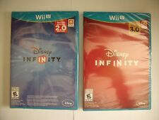 DISNEY INFINITY 2.0 & 3.0 Game Disc Brand New Sealed in Case Wii U Star Wars New