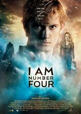 I Am Number Four movie poster - Alex Pettyfer poster - 12 x 17 inches