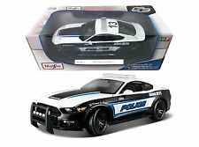 Maisto 2015 Ford Mustang GT 911 Police Diecast Car Special Edition 1:18