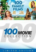 Family & Children (DVD, 2014) - Limited Edition- 100 Family Films (20 Discs)