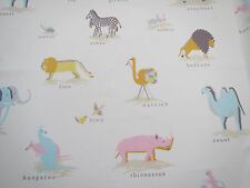 """SANDERSON CURTAIN FABRIC DESIGN """"Two by Two"""" 3.2 METRES NEOPOLITAN (320 CM)"""