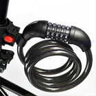 5 Digit Bike Combination Cable Cycling Bicycle Security Password Lock 1200x12mm