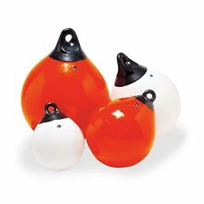 Taylor Made 61140 Tuff End TM Inflatable Vinyl Buoys Orange 9""