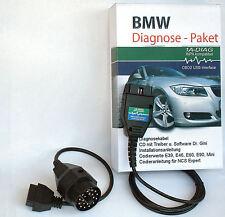 OBD2 Diagnostic pour BMW compatible pour INPA NCSEXPERT Rheingold + Logiciel