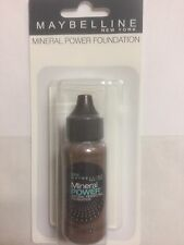 Maybelline Mineral Power Natural Foundation COCOA ( DARK-3). SEALED PACKAGE.