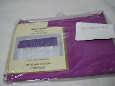 "Curtain of Character by United ""Baltimore"" Balloon Window Valance - Violet 60x16"