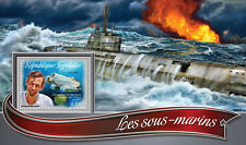 Togo 2016 MNH Submarines 1v S/S Jacques Piccard Forel Ships Boats Stamps