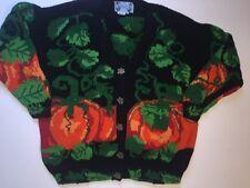 Women's Just Better Sweater 3X 4X Lisa Coufal PUMPKIN design