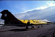 Original colour slide F-104S Starfighter MM6764/53-04 of 53 Stormo Italian AF