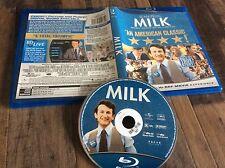 Milk (Blu-ray Disc, 2009) Used Free US Shipping