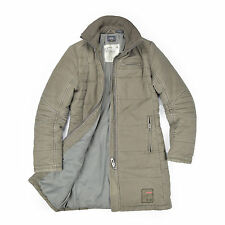G STAR RAW Damen Mantel S 36 grau LAKE COAT Woman Jacket Winterjacke Trenchcoat