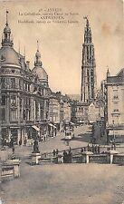 Br35200 Anvers La Cathedrale 1  vue du Canal au Sucre belgium