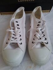 Converse (genuine) all stars US12 white monochrome