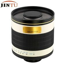 500mm f/6.3 Telephoto Mirror Lens for Nikon D800 D700 D3100 D7000 D5100 D3200 D4