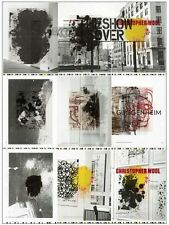 """CHRISTOPHER WOOL Retrospective Exhibition Art Poster 2013 NYC 34"""" x 25"""" **NEW**"""