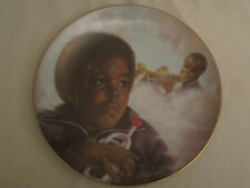 LOUIS ARMSTRONG Collector Plate LITTLE SATCHMO Anthony Sidoni TRUMPET