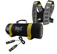 Everlast Cross Training Set POWER BAG salta la corda ponderata Gilet esercizio all'aperto