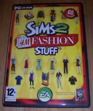 The Sims 2: H & M Fashion STUFF(2007) Expansion Pack* For PC - CD-ROM - Complete