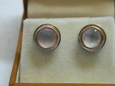 Clogau Silver & 9ct Welsh Gold Ripples Stud Earrings RRP £139.00