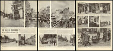 1944 WW 2 article Fall of Cherbourg France US Army in City Great Pics !  031915