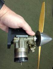 """Vintage ROSSI """"BLACKHEAD"""" .60ci R/C MODEL Engine"""