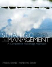 NEW Strategic Management A Competitive Advantage Approach 15E (Global Edition)