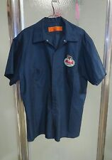 Vintage  MACK TRUCK WORK SHIRT Mechanic Uniform PATCH Blue XL