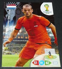 SNEIJDER PAYS-BAS NEDERLAND FOOTBALL CARD PANINI FIFA WORLD CUP BRASIL 2014