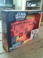 STAR WARS POWER OF THE FORCE HAN SOLO ELECTRONIC BLASTER NEW SEALED