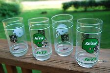 4 Tall New York Jet Glasses by Mobil