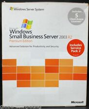 Microsoft Windows Small Business Server SBS Premium 2003 R2 Edición t75-01255