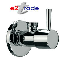 "Stop Valve Angled Lever Handle 1/2"" Chrome  BV101"