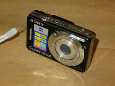 Sony Cyber-shot DSC-W55 7.2 MP Digital Camera - Black