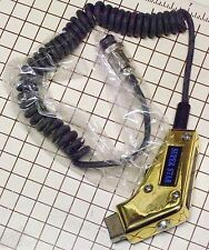4 PIN NEW CB POWER MIC GOLD WIRED FOR COBRA & UNIDEN RADIO