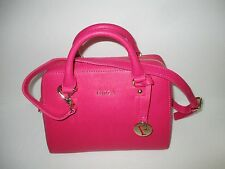 FURLA Elena Gloss Saffiano Leather Small Satchel Tote Handbag   NEW