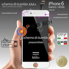 Display TOUCH SCREEN Vetro LCD per Apple iPhone 6 bianco White Originale
