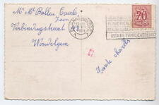 Belgium Gent Gand Ghent Transorma Red Ident BN 1954 Postal Mechanisation Card