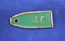GERMAN WWII WEHRMACHT KEY RING KEY CHAIN FROM WEHRMACHT MILITARY BARRACKS RARE