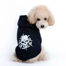 Dog Puppy Pet T Shirt Hoodie Sweater Coat Clothes Apparel Warm Black XL