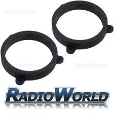 """Subaru Forester 2008> 6.5"""" MDF Front / Rear Speaker Adaptors / Rings / Spacers"""