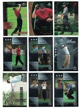 Tiger Woods 2001 UPPER DECK ROOKIE GOLF CARD LOT & OTHER INSERTS & CARD