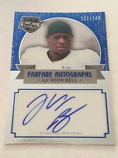 Le'veon Bell 2013 Press Pass FanFare RC ON CARD Auto #122/149 Steelers FREE SHIP
