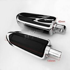 Footrest Foot pegs For Harley Low Rider Glide Road King Glide Street Glide CHROM