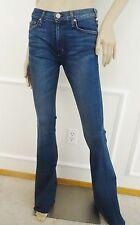 Nwt McGuire Designer Marjorelle Obvois Child Flare Demin Jeans Sz 25 0 Dark Wash