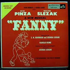 ORIGINAL CAST fanny LP Mint- LOC-1015 Mono USA RCA Vinyl 1954 Record