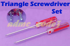 Triangle Screwdriver Set 2 sizes for Ixo Altaya Atlas James Bond Cars Many Other