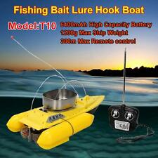 T10 Remote Control RC Radio Bait Fish Finder Fishing Nest Lure Boat Equipment