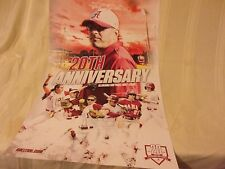 ALABAMA SOFTBALL POSTER - 20TH ANNIVERSARY - ALABAMA SOFTBALL 1997-2016