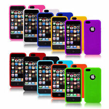 IPHONE 5 5C 5G OS APPLE Silicone Rubber Skin Gel Cover Case jelly bean colour ip